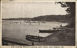 Boat Landing, Weldon's Landing, Lake James