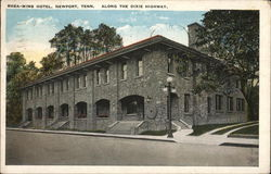 Rhea-Mims Hotel - Along the Dixie Highway