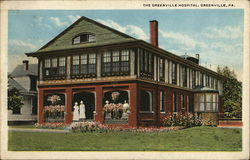 The Greenville Hospital Postcard