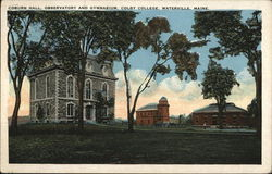 Colby College - Coburn Hall, Observatory and Gymnasium