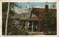 York's Camps - Log Cabins, Loon Lake