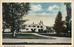 View of Proctor House Postcard