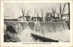 Dam at Hersey's Plow Works