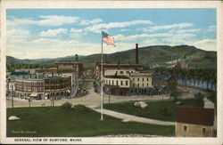 General View of Rumford Postcard