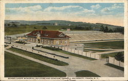 Schoellkopf Memorial Biuilding and Stadium, Cornell University