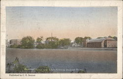 Assabet River and State Armory