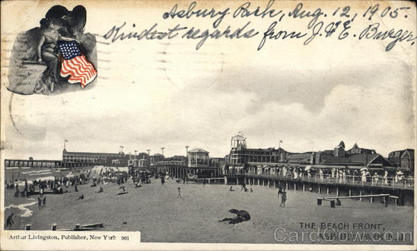 The Beach Front Asbury Park New Jersey