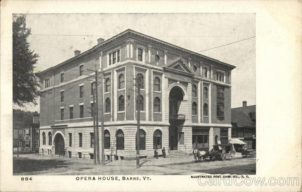 Opera House Barre Vermont