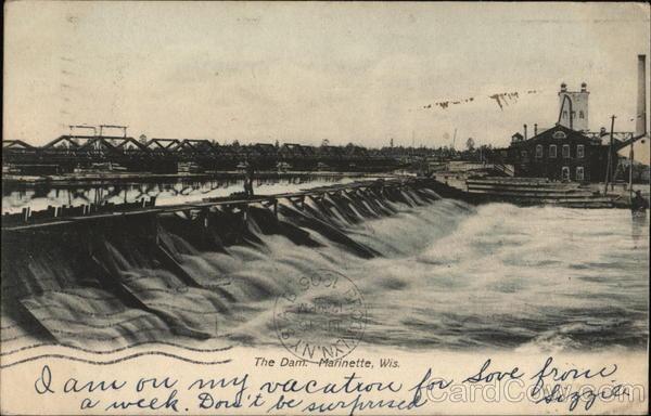 The Dam Marinette Wisconsin