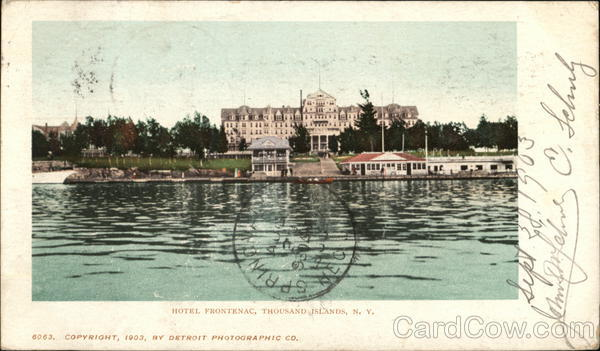Hotel Frontenac Thousand Islands New York