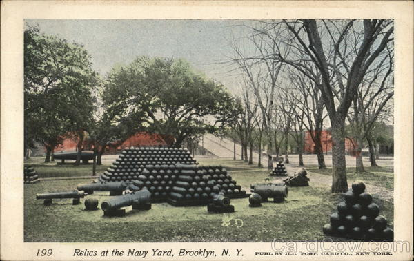Relics at the Navy Yard Brooklyn New York