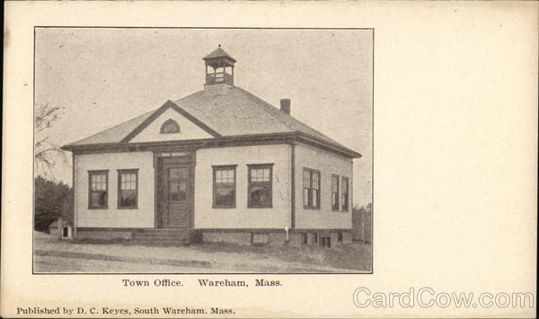 Town Office Wareham Massachusetts