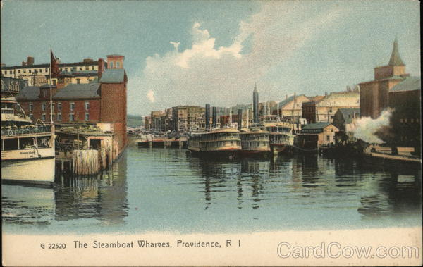 The Steamboat Wharves Providence Rhode Island