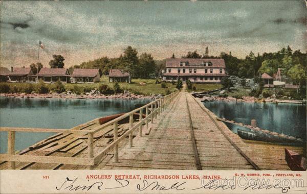 Anglers' Retreat Richardson Lakes Maine