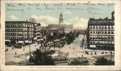 Cadillac Square and County Building