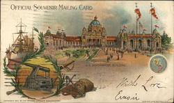 U. S. Government Building, Pan American Exposition 1901