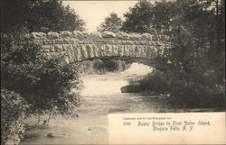 Rustic Bridge to First Sister Island