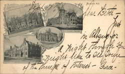 State Normal School, 10th Regiment Armory, Boys' Military Acdemy, St. Agnes Academy