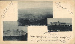 Catskill Mountains, Bird's Eye View, Mountain House, Kaaterskill Hotel