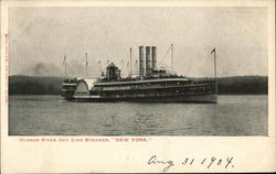 "Hudson River Day Line Steamer ""New York"""