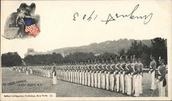 On Dress Parade, West Point