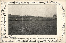 (X) Shows Spot Where John Jetty Was Killed, Verdi's Shack to the Right