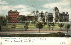 Richmond College Postcard