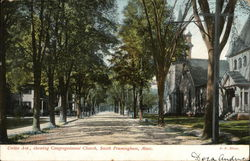Union Avenue showing Congregational Church