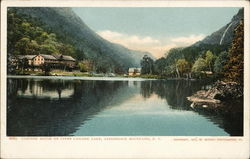 Cascade House on Upper Cascade Lake, Adirondack Mountains