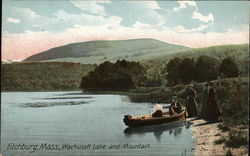 Wachusett Lake and Mountain