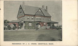 Residence of J. A. Crane