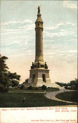 Soldiers and Sailors Monument, East Rock Park