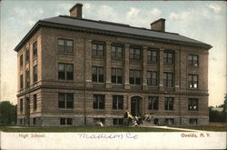 High School Postcard
