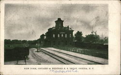 New York, Ontario & Western Railroad Depot