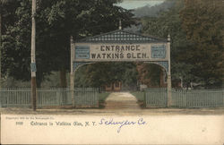 Entrance to Watckins Glen