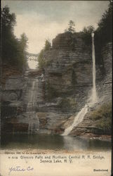 Glenora Falls and Northern Central R.R. Bridge