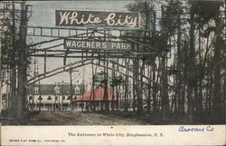 Entrance to White City - Wageners Park