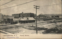 Factory Section Postcard