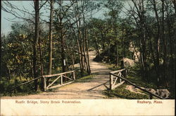 Rustic Bridge, Stony Brook Reservation