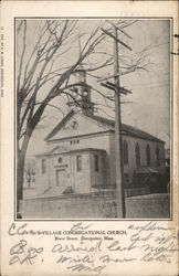 Village Congregational Church, River Street