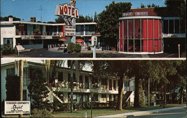 Royal Motel and Efficiencies Orlando Florida Robert F. Wasman