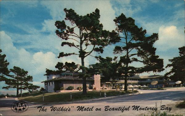 The Wilkie's Motel on Beautiful Monterey Bay Pacific Grove California