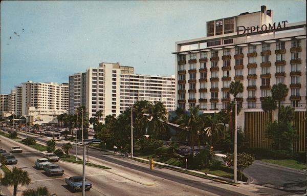 Hotels on Ocean Boulevard Hollywood Florida