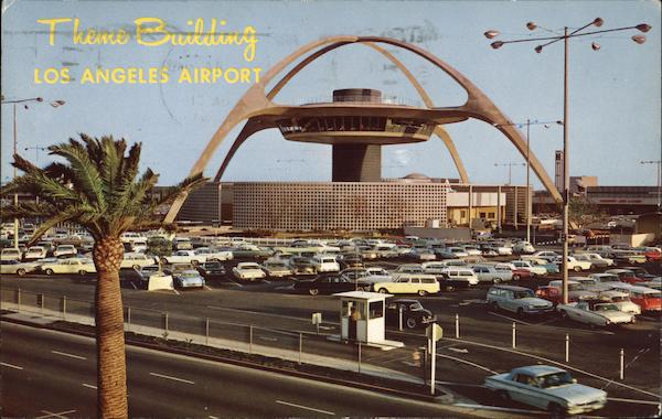 Los Angeles Airport - Theme Building California Airports
