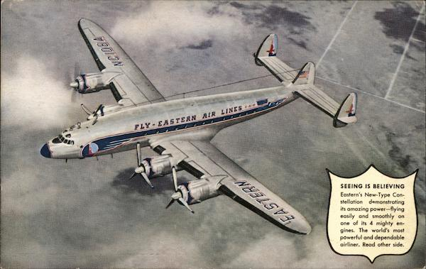 Eastern Airlines' New-Type Constellation Aircraft