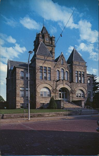 Pulaski County Court House Winamac Indiana