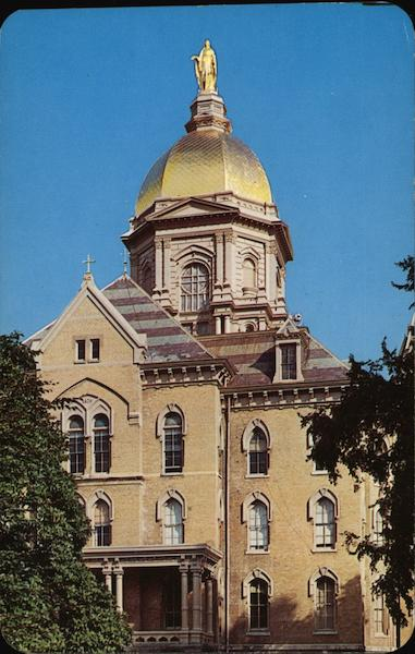 Administration Building of Notre Dame South Bend Indiana