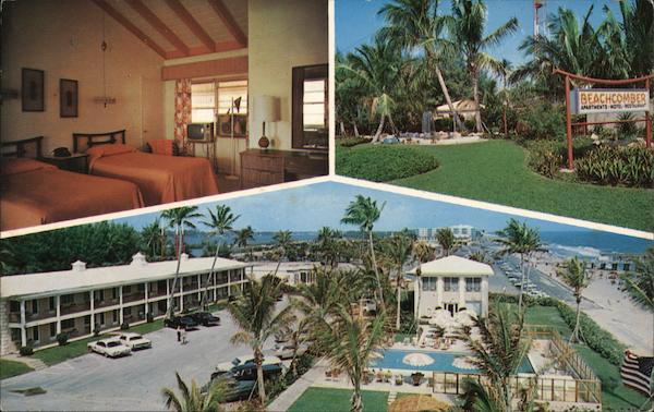 The Beachcomber Apartment Motel and Restaurant Palm Beach Florida