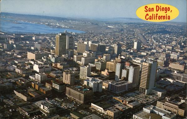 Aerial View of San Diego California