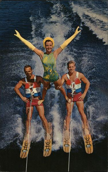 The Thrilling Adagio Waterski Show at Cypress Gardens Florida